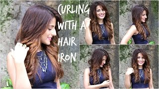 How to: Curl Perfectly With A Hair Straightener| Add Volume