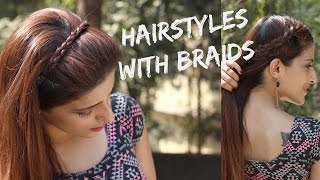 Cute And Easy Hairstyles With Braids/Hairstyles For Valentines Day Part 1