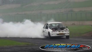 TORCHM V8 COMMODORE BURNOUT AT SYDNEY DRAGWAY