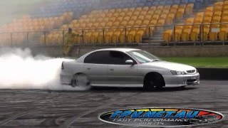 COMMODORE BURNOUT AT SYDNEY DRAGWAY