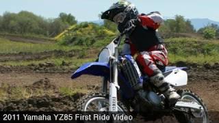 Yamaha YZ85 First Ride