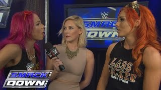Becky Lynch and Sasha Banks reluctantly agree to help each other: WWE SmackDown, Feb. 4, 2016
