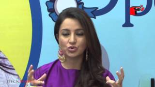 Tisca Chopra interacts with media for spell bee for Spell Bee