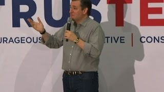 Ted Cruz Touts Conservative Values in N.H.