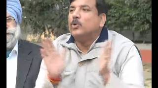 AAP press brief on MCD issue