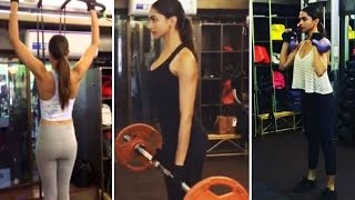 Deepika Padukone's HOT WORKOUT for XXX : Return of Xander Cage | MUST WATCH