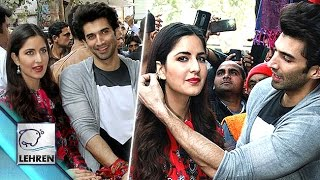 Katrina & Aditya Go Street Shopping For Fitoor | Tabu