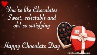 Wishes Happy Chocolate Day || Vatentine Day