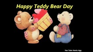 Happy Teddy Bear Day Wishes Quotes Video | Valentine Day