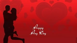 Happy Hug Day 2016 Animation HD Video - Valentine Day
