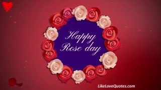 Happy Rose Day - Happy Valentine Day 2016
