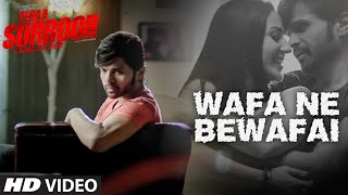 Wafa Ne Bewafai VIDEO Song   TERAA SURROOR   Himesh Reshammiya, Farah Karimaee
