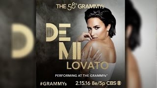 Demi Lovato To Perform Lionel Richie Grammy Tribute With John Legend, Meghan Trainor & Luke Bryan