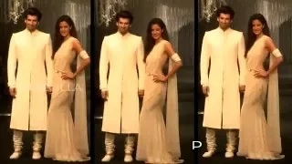 (VIDEO) Katrina Kaif And Aditya Roy Kapur Walk The Ramp For Tarun Tahiliani