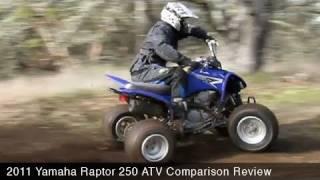 Yamaha Raptor 250 Comparison Review