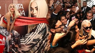 Rita Ora Unveils New Adidas Originals Line & Gets Mobbed In UAE
