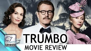 'Trumbo' Movie REVIEW | Bryan Cranston, Helen Mirren | Bharathi Pradhan