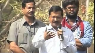 Delhi CM Arvind Kejriwal Addressing at Hyderabad University Over Dalit Student Rohit Suicide Row