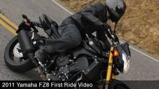 First Ride: Yamaha FZ8