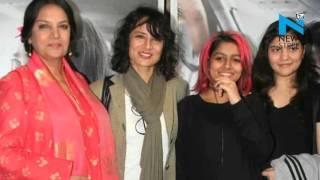 Shabana Azmi and Adhuna Akhtar reunites at 'Neerja' screening | Farhan Akhtar