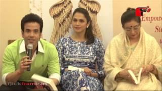 Neeta Lulla, Isha Koppikar And Tushar Kapoor At A Book Launch