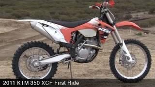KTM 350 XC-F First Ride