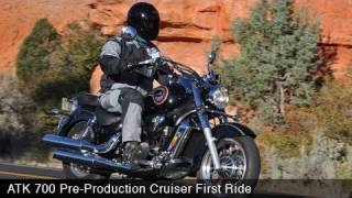 ATK 700 Cruiser First Ride Video