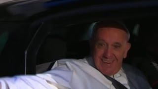 Raw: Pope Francis Boards Plane to Chiapas