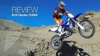 2016 Yamaha YZ250X Review