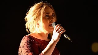 Adele Has Audio Issues During 'All I Ask' Performance at Grammys 2016, Kills It Anyway