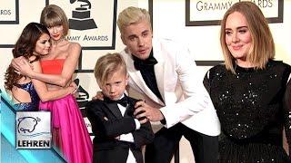 WATCH: Celebs Walk RED CARPET At 2016 Grammy Awards (Video)