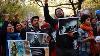 Can JNU activists justify anti national slogans