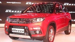 Auto Expo 2016: Maruti Suzuki Vitara Brezza  exterior & interior