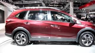 Auto Expo 2016: Honda BR-V Exterior & Interior