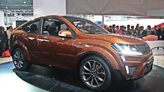 Auto Expo 2016 - Mahindra XUV Aero Coupe SUV Exterior Interior