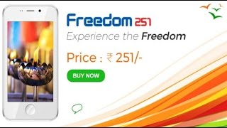 Excited customers disheartened after 'Freedom251' site crashes