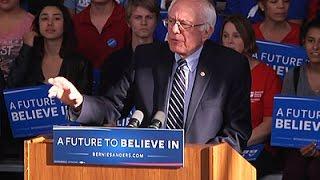 Sanders: 'We Have Momentum' Despite Nevada Loss