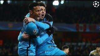 Arsenal vs Barcelona 0 - 2 All Goals || Champions League 2016