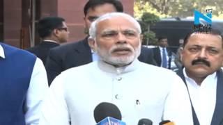 Narendra Modi hopes for constructive  Budget Session