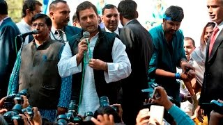 RSS talks of past but try to shy away from present problems: Rahul Gandhi