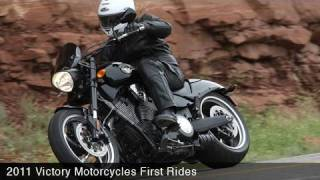 Victory Motorcycles First Rides