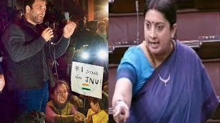 Smriti Irani Speech ... 'My Name Is Smriti Irani', Says Minister in Emotional Speech in Parliament