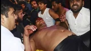Great Khali Injured during sporting event WWE Wrestler and in icu hospital