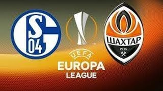 Schalke 04 vs Shakhtar 0-3 & Goals 2015-16 Europa League 25-02-2016