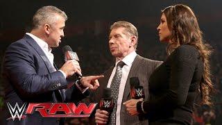 Shane McMahon returns to WWE: Raw