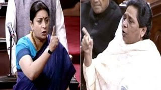 Mayawati asks Smriti will she fulfil her promise of sacrifice
