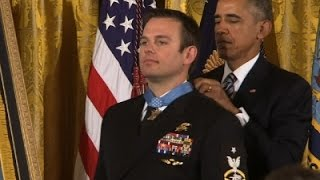Navy SEAL Receives Medal of Honor For Rescue