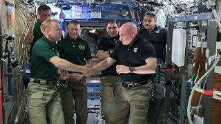 Kelly Hands Over Command of Intl Space Station