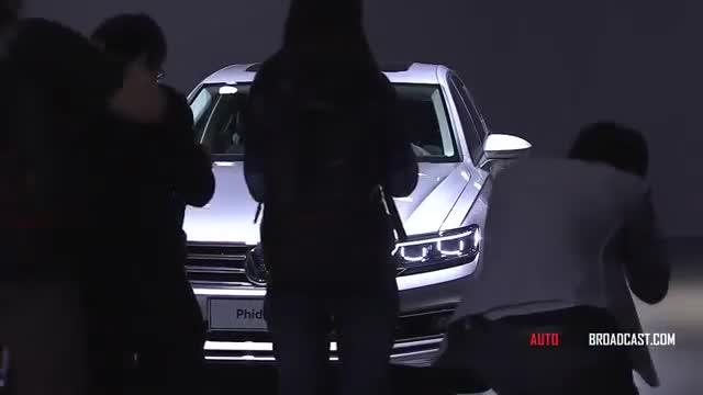 Volkswagen Phideon - World premiere - LIVE - Geneva Motor SHow 2016