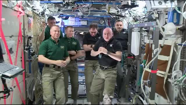 New ISS Commander Onboard